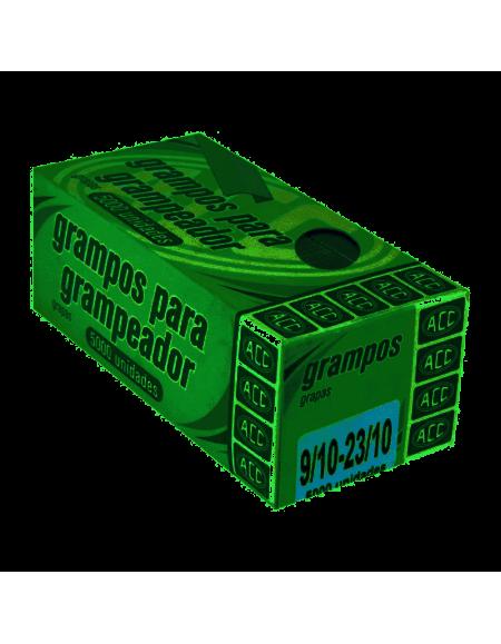 Grampo ACC Para Grampeador Galvanizado 23/10 Cx c/5000 Grampos