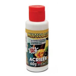 Cola Acrilex Multicolagem 60ml