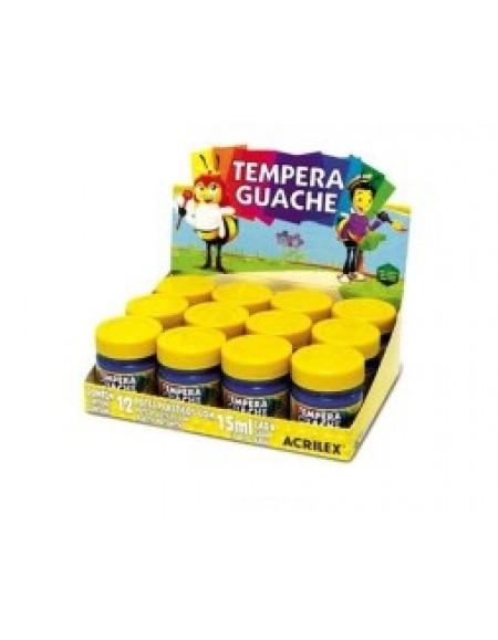 Tinta Tempera Guache Acrilex 15ml