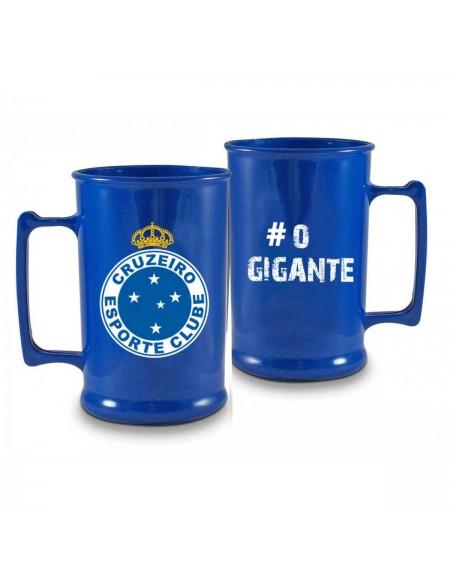 Caneca Brasfoot Acrilica Cruzeiro 400ML 7487