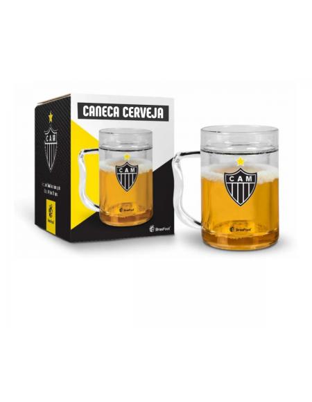 Caneca Brasfoot Cerveja Gel 200ML - Atletico