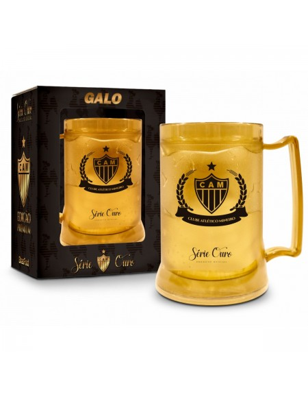 Caneca Brasfoot Gel Atletico Serie Ouro 300Ml 1607