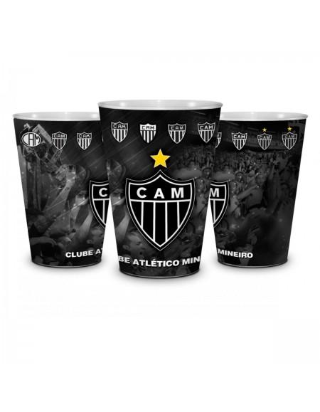 Copo Plastico Atlético Mineiro - Brasfoot