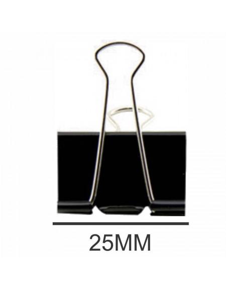 Binder Clip BRW 25mm PCT C/ 48