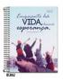 Caderno Cadersil Capa Dura Universitario 10X1 200FLS Bliss Religioso