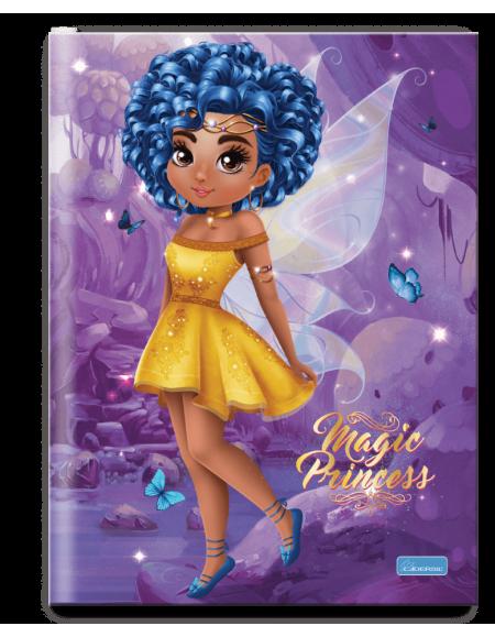 Caderno Cadersil Capa Dura Brochurão 96 fls Mag Princess