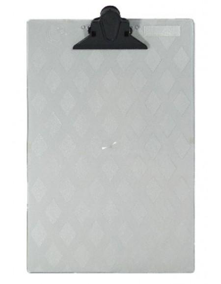 Prancheta de acrílico ofício cristal Carbrink