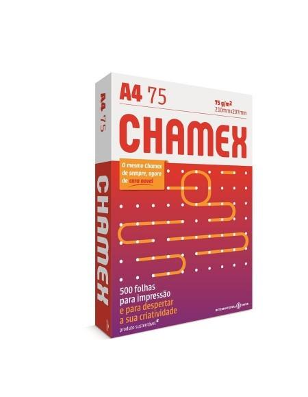 Papel Sulfite Chamex 75g A4 PCT C/500Fls