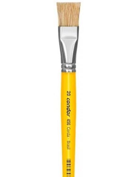 Pincel Condor Para Pintura Linha Amarela 456 nº 20