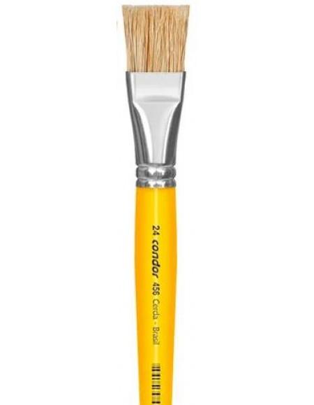 Pincel Condor Para Pintura Linha Amarela 456 nº 24