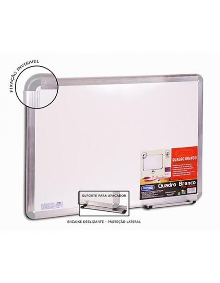 Quadro Cortiarte Branco Carfix Pop Aluminio 300cmx120cm