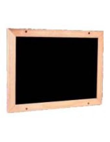 Quadro Cortearte Lousa Negra Madeira 70cmX90cm