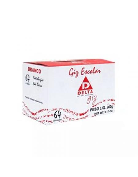 Giz Para Quadro CX c/ 64 Palitos