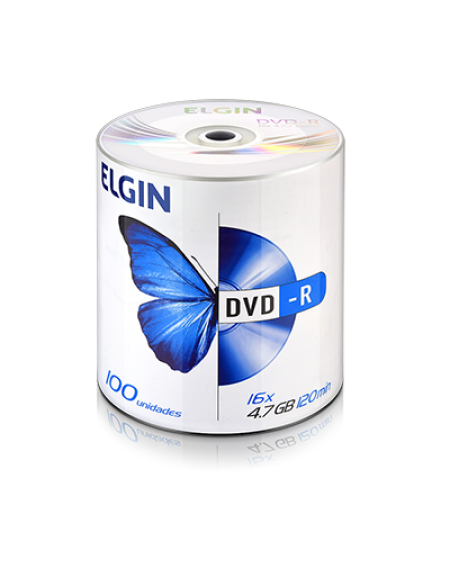 DVD-r Elgin 4.7GB PCT C/100