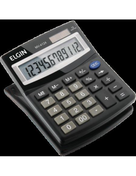 Calculadora Eletrônica de Mesa Elgin Preta 12 Dígitos MV 4124