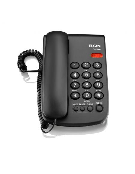 Telefone Elgin Com Fio TCF 2300