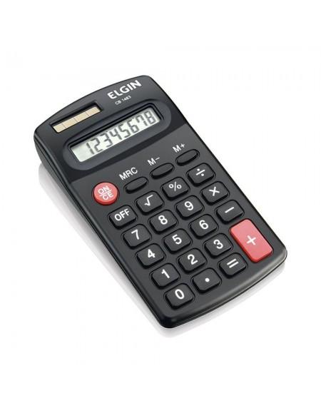 Calculadora de Bolso Elgin Preta 8 Dígitos CB 1483