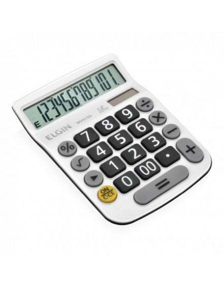 Calculadora de Mesa Elgin Branca 12 Dígitos MV 4132