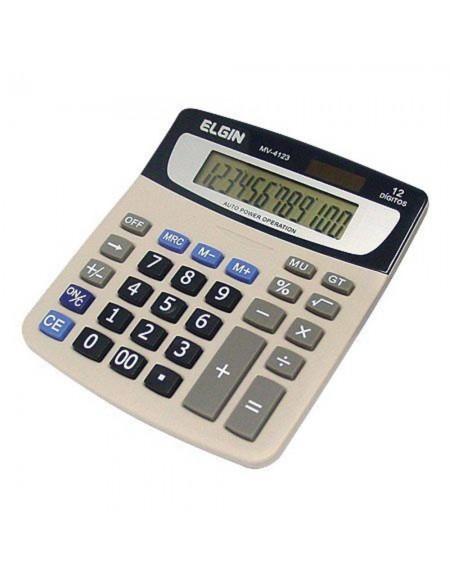 Calculadora de Mesa Elgin Preto 12 Dígitos MV 4123