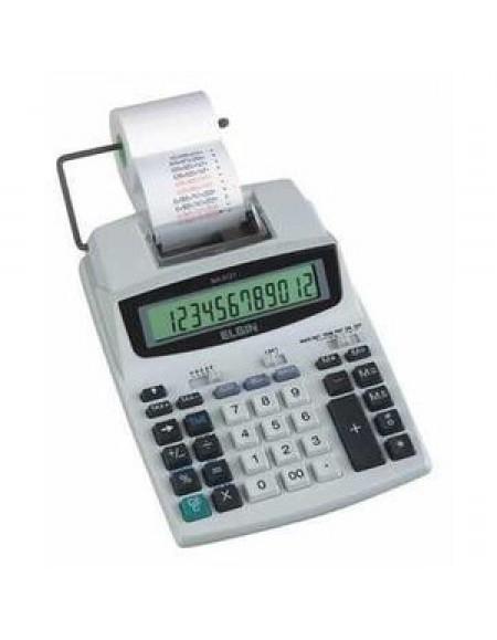 Calculadora Eletrônica de Mesa Elgin C/Bobina BiVolt