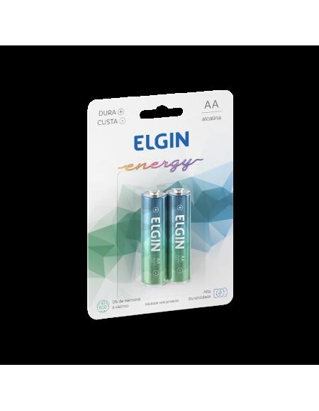 Pilha Elgin Acalina AA Blister Com 2 Peças