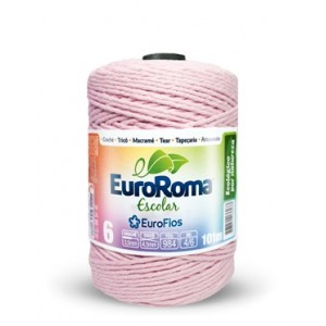 Barbante Eurofios Escolar N° 6 200g 152m