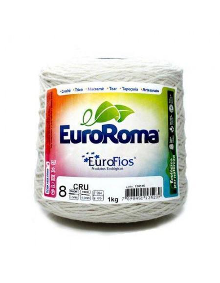 Barbante Eurofios Colorido N° 8  1KG 762m CRU