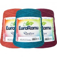 Barbante Eurofios Colorido N° 6  600g 610m