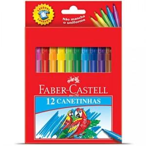Canetinhas Faber Castell Hidrocor 12 cores