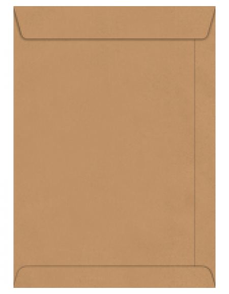 Envelope Foroni Saco Kraft Natural 176x250 CX C/250