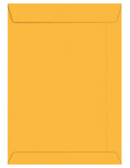 Envelope Foroni Saco Kraft Ouro A4 229x324 CX C/250