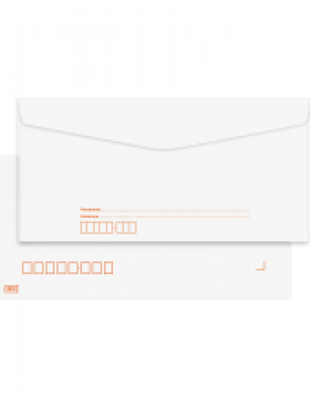 Envelope Foroni Carta Branco 114X162 Com RPC CX C/1000