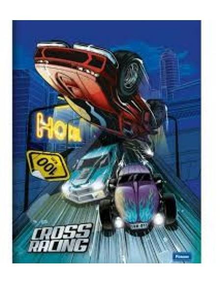 Caderno Foroni Brochurão Capa Dura 48fls Cross Racing