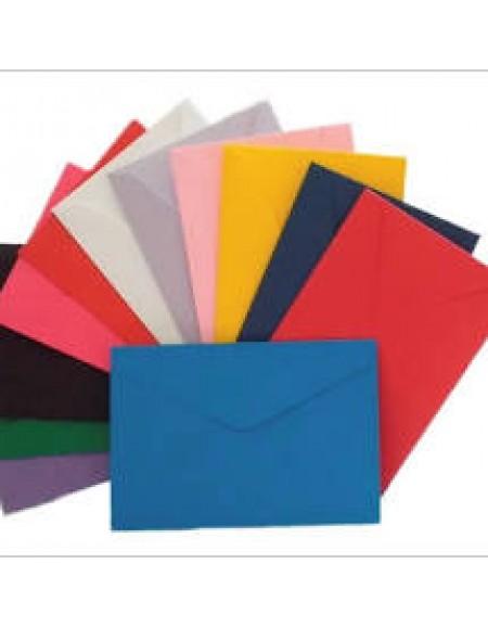 Envelope Carta Colorido 114x162 CX C/100