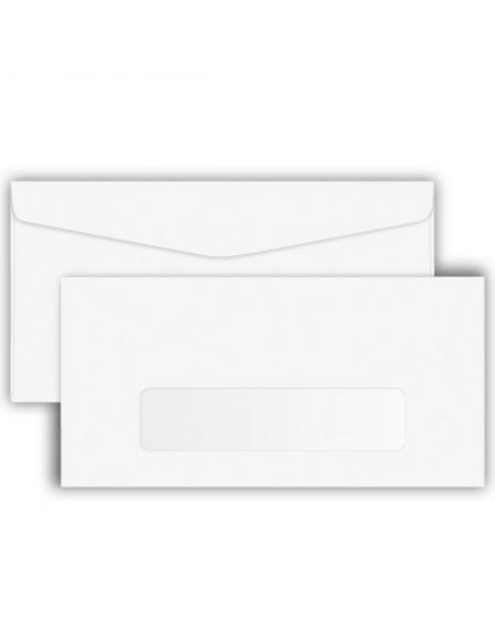 Envelope Foroni Carta Branco 114X162 Com Janela CX C/1000