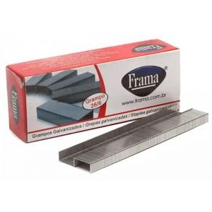 Grampo Frama 26/6 Para Grampeador Galvanizado CX Com 5000 Grampos