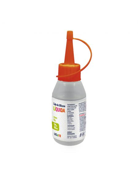Cola de Silicone Líquida 60ml - LeoArtes