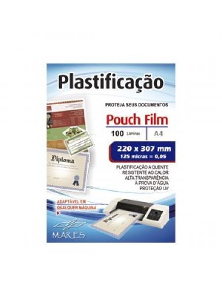Plastico Para Plastificar A4 220X307 CX C/100 Folhas