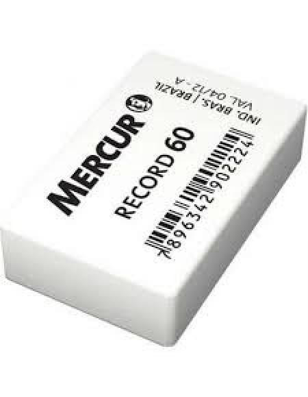 Borracha Mercur Branca Record 60 CX C/60