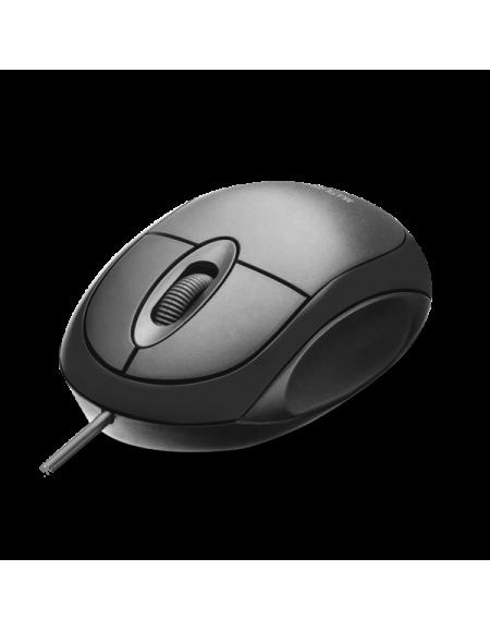 Mouse Multilaser Óptico USB 1200 dpi 3 botões MO300