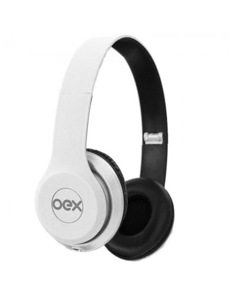 Headset OEX Style Hp10 Com Microfone - Branco