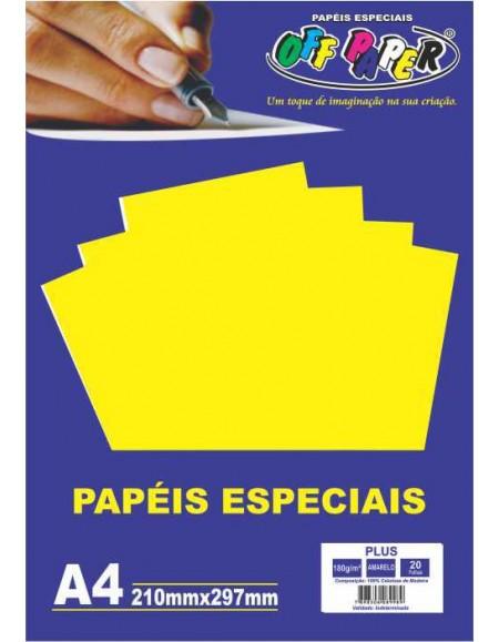 Papel Off Papel Color Plus 180g A4 PCT C/20