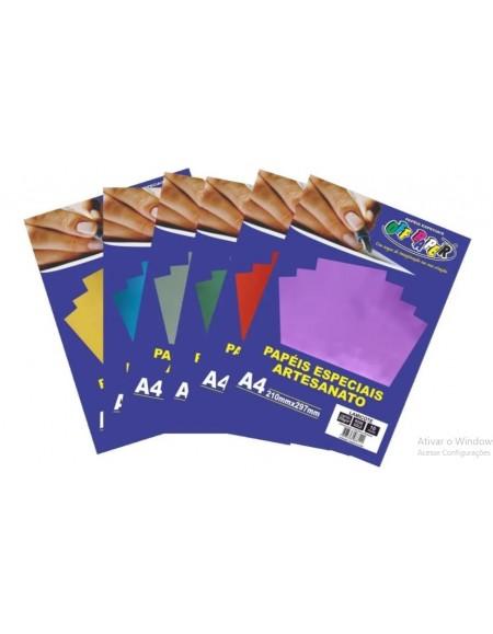 Papel Off Paper Lamicote 250g A4 PCT C/ 10 Folhas