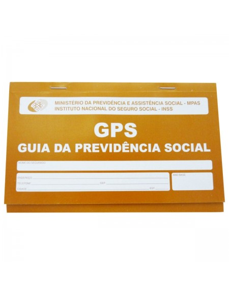 Carne GPS Guia da Previdência Social 2 Vias - Página Brasil