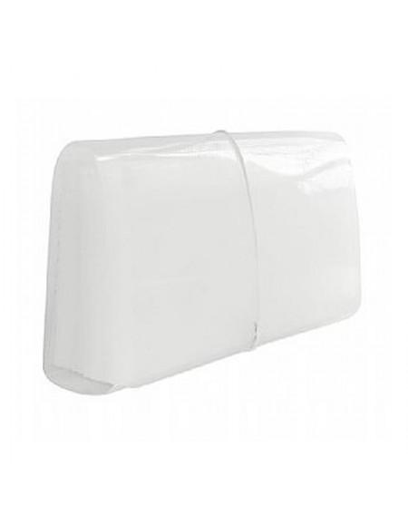 Pasta Sanfonada Polibras Cheque 31 Divisões 155mmx65mmx260mm Cristal