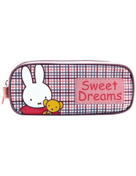 Estojo Colorizi Infantil Miffy Sweet Dreams 1 Compartimento