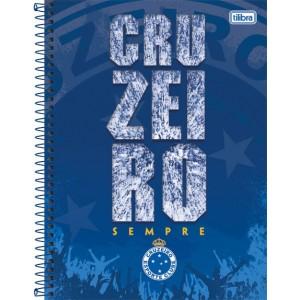 Caderno Tilibra Cruzeiro Universitário Arame 1x1 Capa Dura 96fls