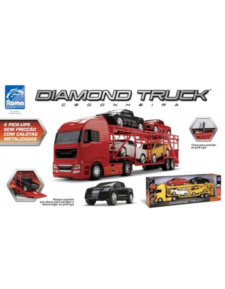 Caminhão Cegonheira Diamond Truck