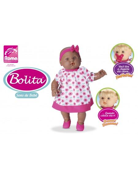 Boneca Bolita  Histórias 35cm Roma Brinquedos