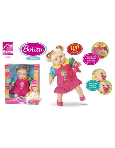 Boneca Bolita 100 Frases 35cm RomaBrinquedos